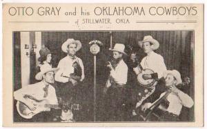 Otto Gray& his Oklahoma Cowboys, Stillwater OK