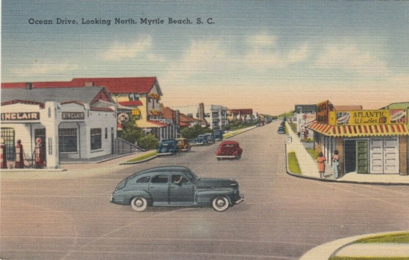 MYRTLE BEACH , South Carolina, 1930-40s : Ocean Drive , North