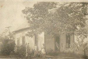 Circa 1900-10 RPPC House in Pataskala, Ohio Real Photo Vintage Postcard P17