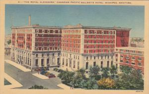 Royal Alexandra, Canadian Pacific Railway's Hotel, Winnipeg, Manitoba, Canada...