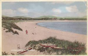 Pwllheli , Wales , PU-1965 Abererch beach