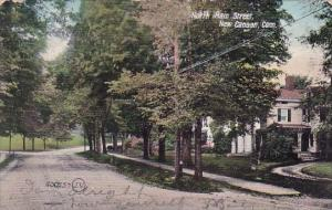 Connecticut New Canaan North Main Street 1907