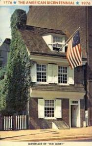 Betsy Ross House Philadelphia PA Unused
