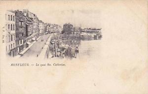 Le quai Ste. Catherine, Honfleur (Calvados), France, 1890s
