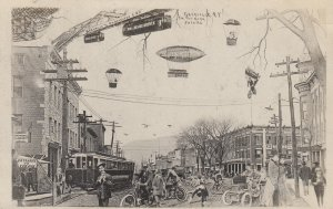 RP: GRANVILLE , New York , 1907 ; Main Street in the future