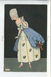 3177999 ART NOUVEAU Lady by MELA KOEHLER Kohler Vintage PC