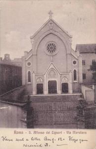 Roma - S. Alfonso dei Liguori - Via Merulana , Italy , PU-1913