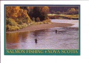 Salmon Fishing, Nova Scotia
