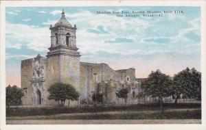 Mission San Jose Second Mission Built 1718 San Antonio Texas