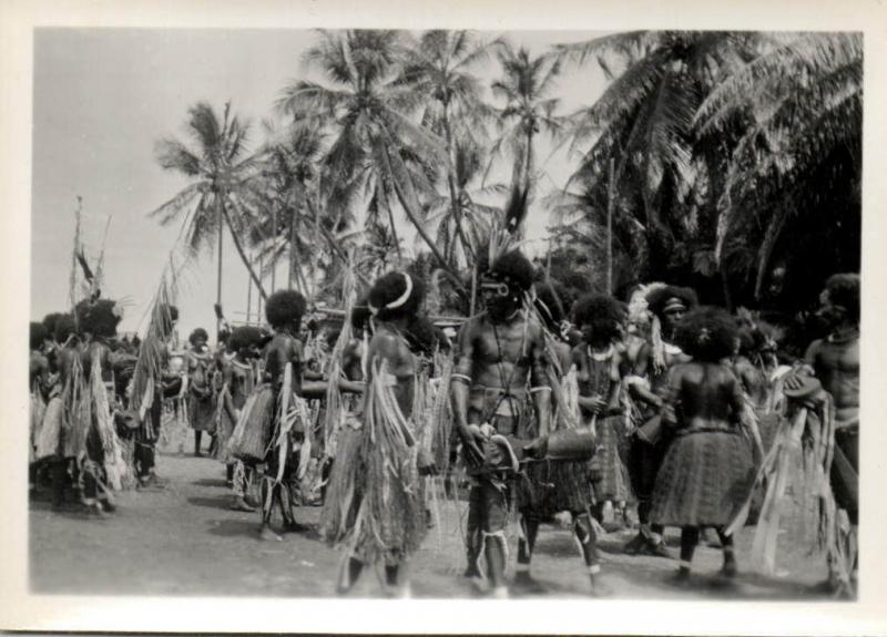 Papua New Guinea, Real Photo Native Papuas (1930s) RP (03)