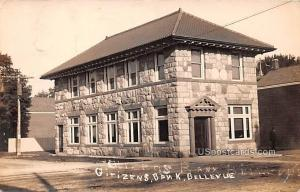 Citizens Bank Bellevue MI Postal used unknown