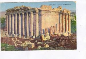 Temple De Bacchus, Baalbek, Lebanon, Asia, 1900-1910s