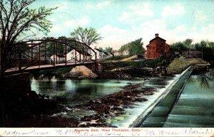 Connecticut West Thompson Reedville Dam 1907