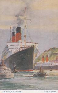 CUNARD Ocean Liner R.M.S. CARONIA , 00-10s
