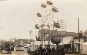 RP: DYRON  , Illinois , 00-10s ; Street Fair , Ferris Wheel