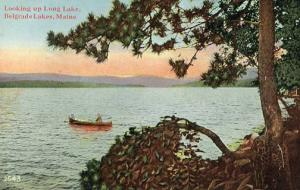 ME - Belgrade Lakes. Looking up Long Lake