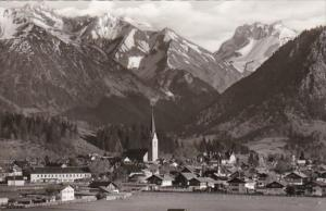 Germany Oberstdorf Panorama 1957 Photo