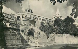 Hungary Budapest 1957 Halaszbastya