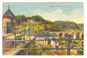 Luxemburg - Blick auf 3 Eichein, 00-10s