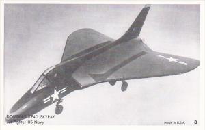 Douglas XF4D Skyray Jet Fighter U S Navy Photo