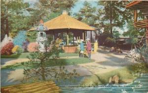 C-1910 Japanese Tea Garden Golden Gate San Francisco California Postcard 286