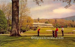 Old Vintage Golf Postcard Post Card Greenbrier White Sulphur Springs, West Vi...
