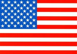 USA - American Flag, 50 stars