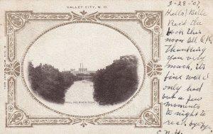 VALLEY CITY , North Dakota ,1907 ; Mill & River