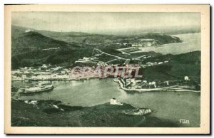 Postcard Old Por Vendres General view