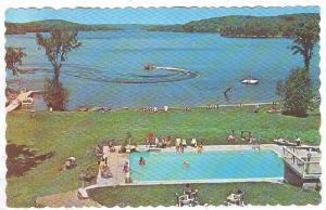 Halimar Lodge on Lake Kashagawigamog, Hiliburton, Ontario,  Canada, 40-60s