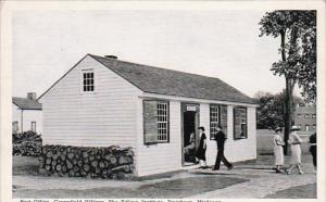 Michigan Dearborn Post Office Greenfield Village Curteich
