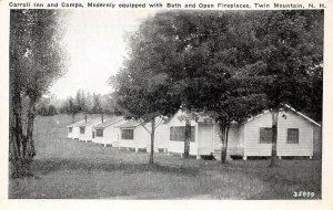 LPS16 Twin Mountain New Hampshire Carroll Inn and Camps Vintage Postcard