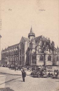 Partial View, L'Eglise, Ell, France, 1900-1910s