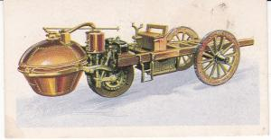Trade Card Brooke Bond History of the Motor Car No 1