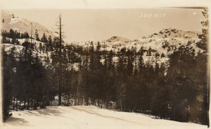 RP: SUMMIT of Mt Hood , Oregon , 1910s