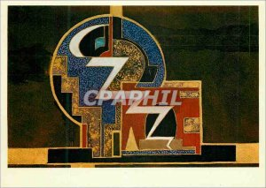 Postcard Modern Pattern box is enamelled cigarette jeans Goulden 1927