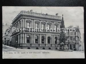 DUNEDIN Bank of New Zealand c1902 UB by F.T. Series. No 507