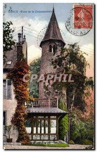 Old Postcard Nancy Tower Commandery