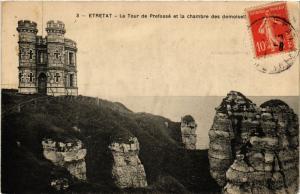 CPA ETRETAT-La Tour de Prefosse et la chambre (347742)