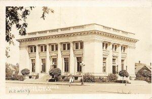 F56/ Kearney Nebraska RPPC Postcard 1921 U.S. Post Office