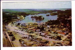 Aerial, Temagami, Ontario, Canada,