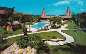 Florida Tarpon Springs Tahitian Motor Lodge 1973