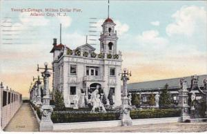 New Jersey Atlantic City Young's Cottage Million Dollar Pier 1912
