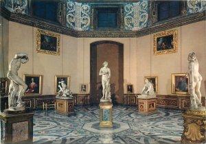 Postcard Italy Firenze - The Uffizi's Gallery - The Tribune