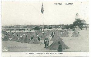 08026  CARTOLINA d'Epoca - LIBYA  LIBIA - TRIPOLI: GENIO