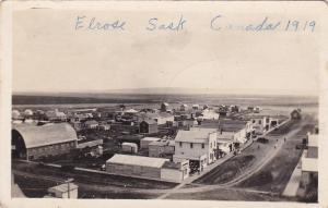 RP: Panorama view , ELROSE , Saskatchewan , Canada , 1919