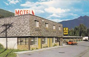 Exterior,  R Motel,  Revelstoke,  B.C.,  Canada,   40-60s