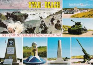 France Sainte-Marie-Du-Mont Utah Beach War Monuments