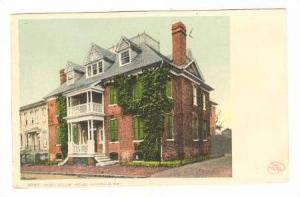Peggy Stuart House, Annapolis, Maryland,00-10s