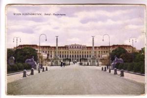 Wien Schonbrunn, Schlob, Haupteingang, Germany